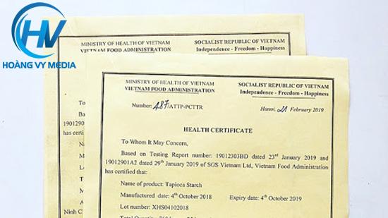 Làm giấy chứng nhận y tế HC