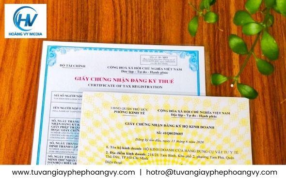 Dịch vụ trọn gói đăng ký giấy phép hộ kinh doanh tphcm