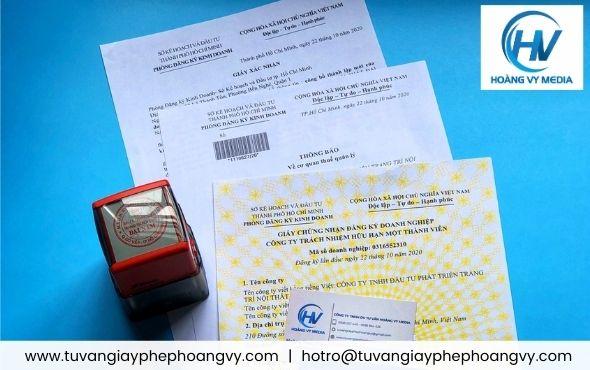 Dịch vụ GIÁ TỐT đăng ký thành lập giấy phép kinh doanh Sài Gòn