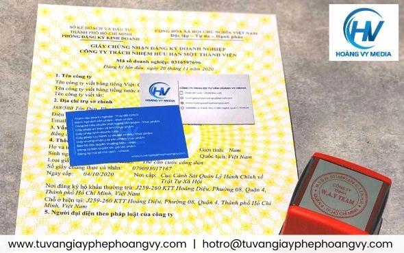Dịch vụ thành lập giấy phép kinh doanh tại Huyện Hóc Môn