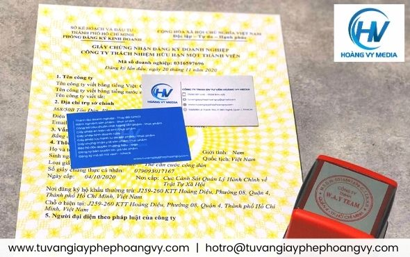 Dịch vụ thành lập giấy phép kinh doanh tại Phú Nhuận