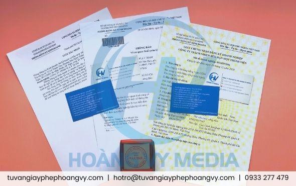 Dịch vụ đăng ký giấy phép doanh nghiệp Sở Kế hoạch Đầu tư