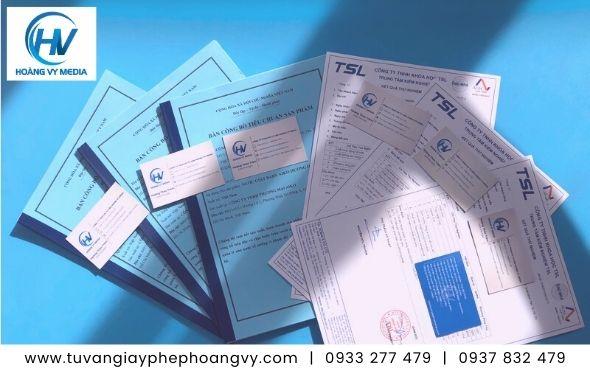 Công bố chất lượng khăn giấy khô trong nước và nhập khẩu