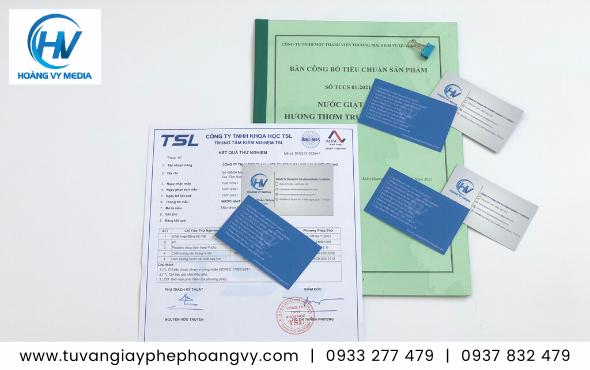 Dịch vụ kiểm nghiệm và công bố sản phẩm nước giặt, bột giặt