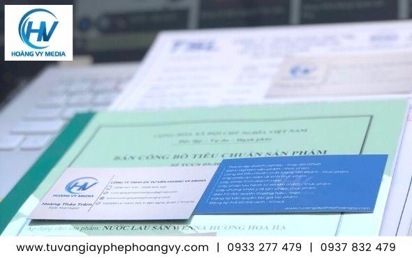 Dịch vụ công bố tiêu chuẩn chất lượng nước lau sàn