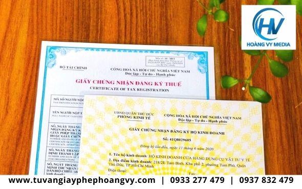 Dịch vụ đăng ký giấy phép hộ kinh doanh tại tpHCM