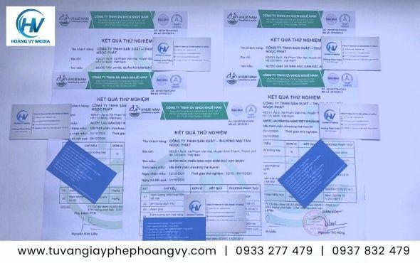 Dịch vụ kiểm nghiệm chất lượng sản phẩm chất tẩy rửa