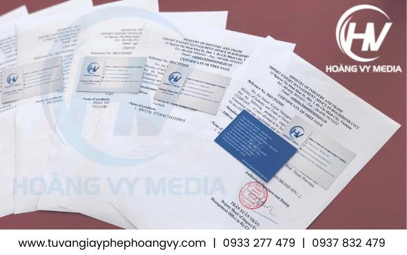 Xin giấy chứng nhận lưu hành tự do Khô Bò xuất khẩu