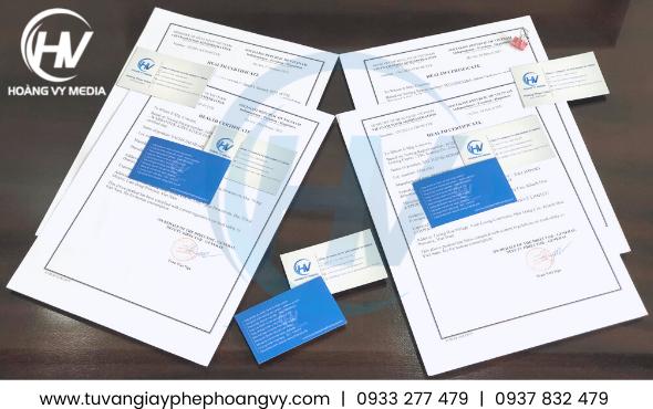 HC giấy chứng nhận y tế xuất khẩu thực phẩm