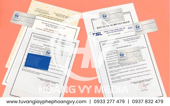 Thực hiện giấy phép cơ sở sản xuất kinh doanh Khô Mực