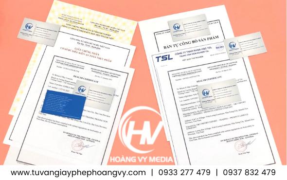 giấy phép cho cơ sở sản xuất kinh doanh Tôm khô, Ruốc khô