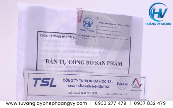 Tự công bố chất lượng sản phẩm Bình giữ nhiệt