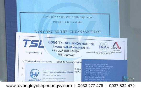 Công bố tiêu chuẩn chất lượng chất tẩy sơn