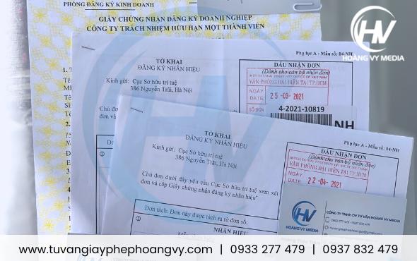 Tờ khai đăng ký nhãn hiệu hàng hóa