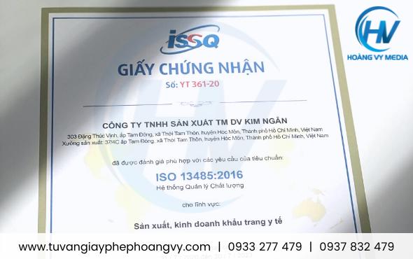 Hệ thống quản lý chất lượng trang thiết bị y tế - ISO 13485