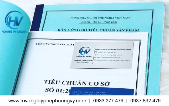 Công bố chất lượng khăn giấy ướt sản xuất tại Việt Nam